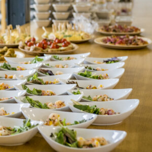 Fingerfood Catering Weihnachtsfeiers Buffet