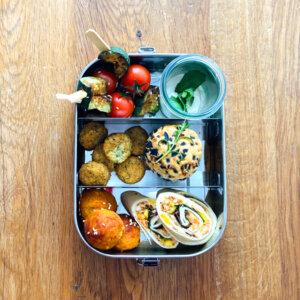 Fingerfood Catering Box Vegetarisch Vegan
