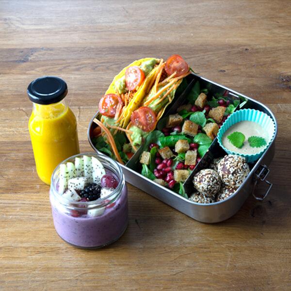 Frühstücksbox Catering Vegan