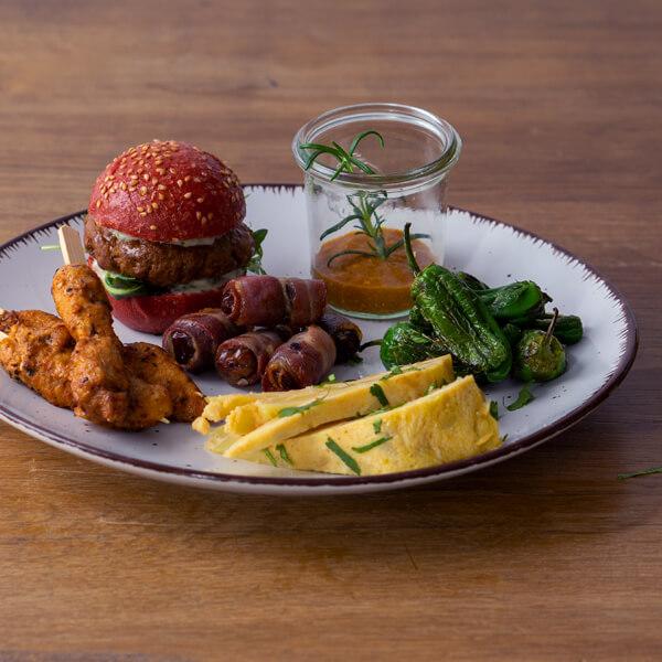 Mediterrane Fingerfood Catering Box