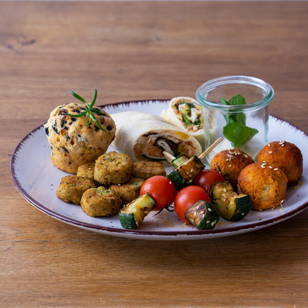 Vegan Fingerfood Catering Box